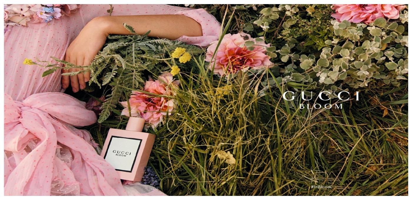 Lançamento: Gucci Bloom é a primeira fragrância assinada pelo design Alessandro Michele