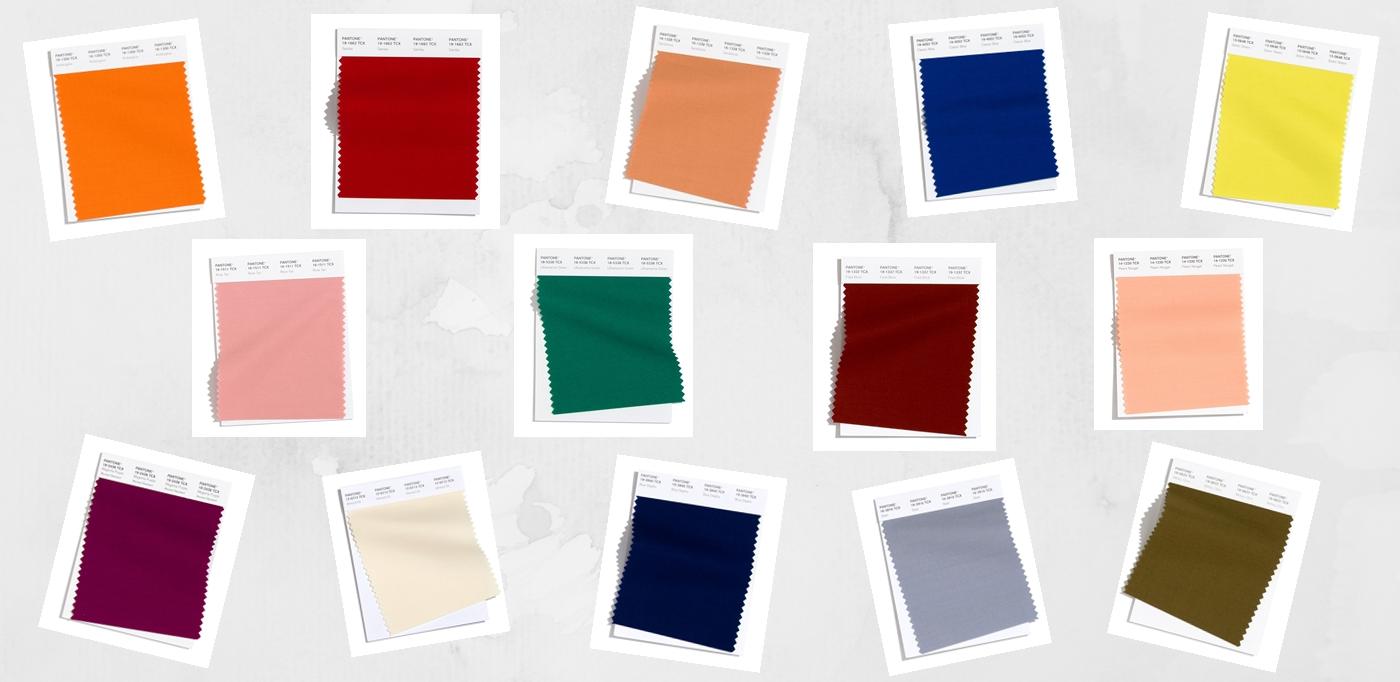 Conheça as tendência de cores da Pantone para a temporada Outono/Inverno 2020