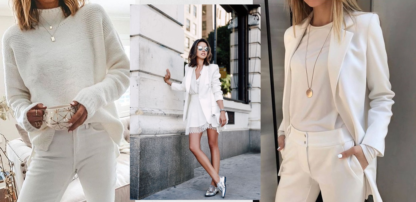 "Aposte nos looks ""All White"" e saia do óbvio"